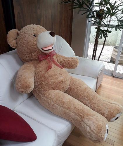 Imagem 1 de 10 de Urso De Pelúcia Ursinho Teddy Bear Gigante 150cm 1,50 Metros