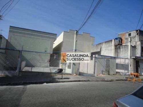 Terreno À Venda, 500 M² Por R$ 870.000,00 - Vila Ré - São Paulo/sp - Te0460