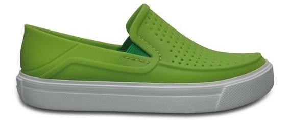 Zapato Crocs Niño Citilane Roka Verde