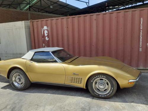 Chevrolet Corvette  1971 Color Amarillo