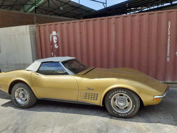 Chevrolet Corvette 1971 Color Amarillo