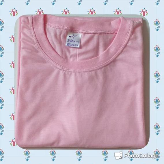 Kit 16 Camisas Coloridas Para Sublimação 100% Poliéster.