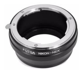 Anel Adaptador Lente Nikon G Ai Ais - Af - Sony Nex E-mount