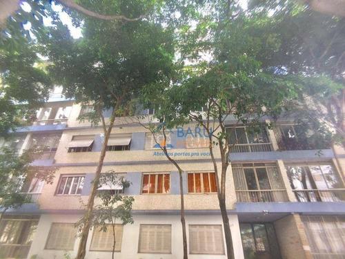 Apartamento Com 2 Dormitórios Para Alugar, 90 M² Por R$ 2.700,00 - Higienópolis - São Paulo/sp - Ap27425