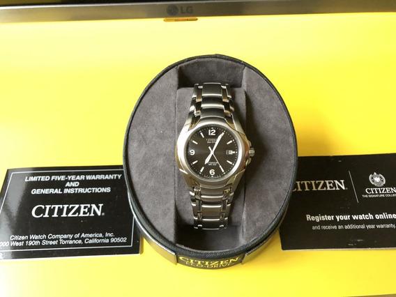 Relógio Citizen Eco Drive Titanium Bm6060-57f