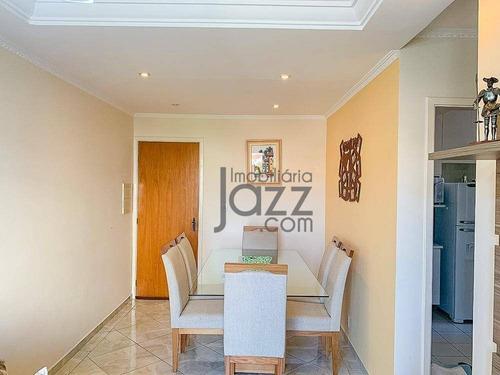 Lindo Apartamento Com 2 Dormitórios À Venda, 69 M² Por R$ 280.000 - Vila Nova Teixeira - Campinas/sp - Ap5052