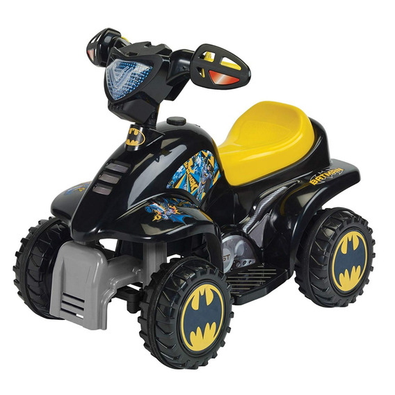 Montable Prinsel Moto Mini Quad Batman Electrica