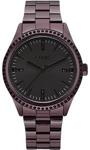 Relógio Euro Feminino Lilás Strass Eu2035yns/4p