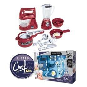 Kit Cozinha Infantil Chefe Kids Master Chef Promoçao