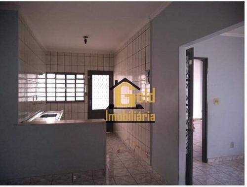 Casa Com 3 Dormitórios À Venda, 104 M² Por R$ 210.000 - Jardim Joaquim Procópio De Araújo Ferraz - Ribeirão Preto/sp - Ca0885