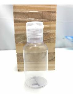 Frasco X 35ml Con Tapa Flip Top Ideal Alcohol En Gel X 50u.