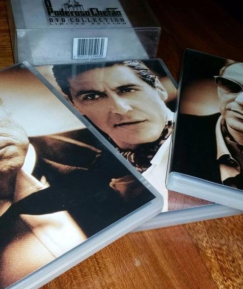Coleção O Poderoso Chefão - Dvd Limited Edition