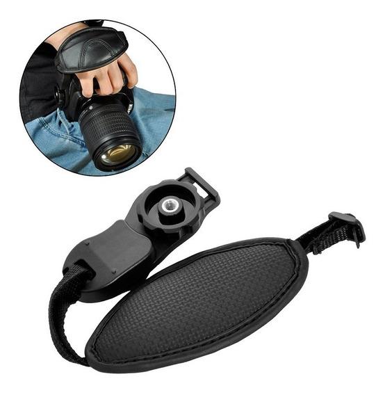 Alça De Mão Hand Grip Camera Dslr Strap P/ Canon Nikon Sony