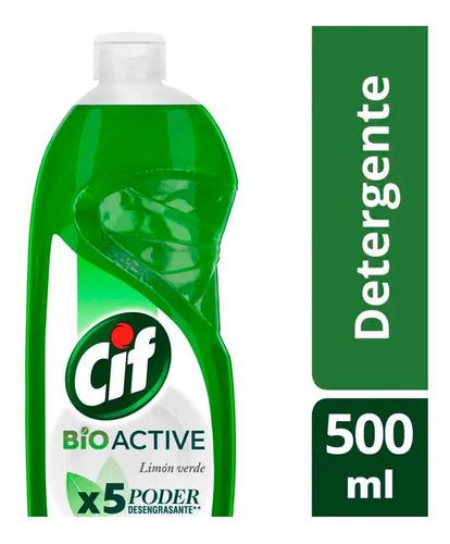 Cif Detergente Bio Active Limon Verde 500 Ml