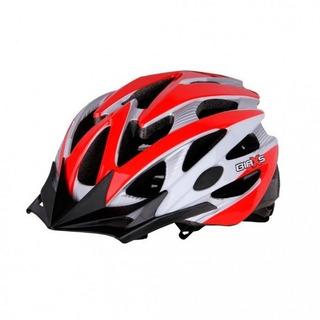 Capacete Ciclista Kripta Falcon Branco/vermelho