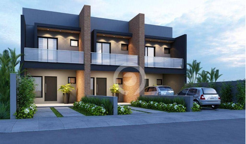 Imagem 1 de 3 de Casa Com 2 Dormitórios À Venda, 119 M² - 25 De Julho - Campo Bom/rs - Ca1158