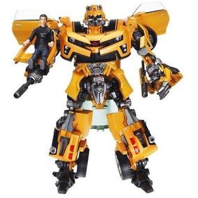 Bumblebee Transformers Human Alliance + Boneco San 12x