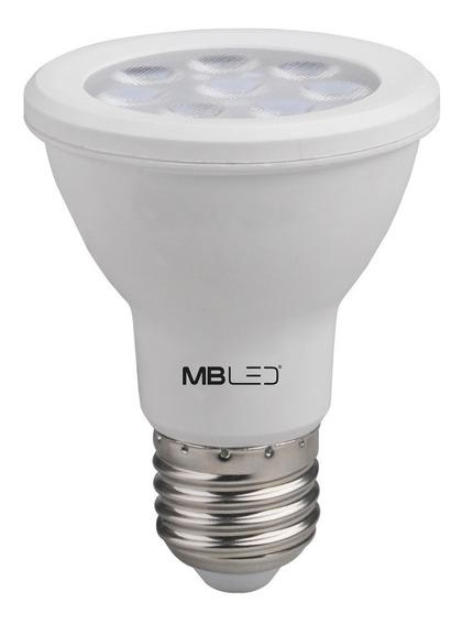 Lampada Led Par 20 8w Dimerizavel Quente E27 127v (25 Und)