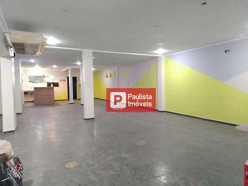 Imagem 1 de 19 de Salão Para Alugar, 400 M² Por R$ 7.000,00/mês - Chácara Santo Antônio (zona Sul) - São Paulo/sp - Sl0172