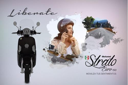 Motomel Scooter  Strato Euro 150 Financia Solo Con Dni