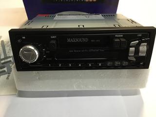 Autoestereo Am/fm Cassette Maxsound