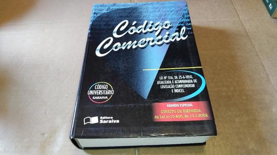 2743 Livro Código Comercial Saraiva Código Universitário