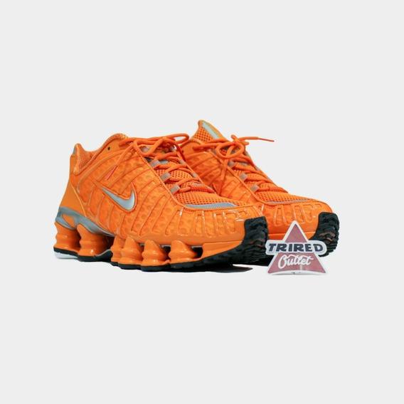Tênis Nike Shox Tl Laranja - Trired