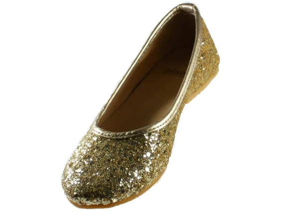 Chatita Pians Glitter Dorado Del 34 Al 40