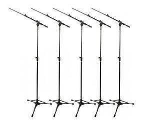 Pedestal Suporte Microfone Rmv Girafa Psu 0090 Pró Kit C/ 10