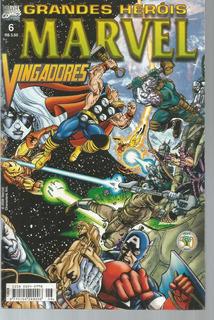 Grandes Herois Marvel 06 2ª Serie Abril Bonellihq Cx443 H18