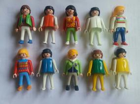 Lote Playmobil - Kit 20 Bonecos Playmobil Promoçao