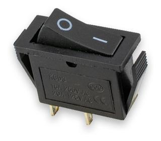Switch Interruptor Tecla Mediana - Rectangular -/ Sw-104