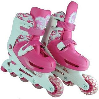 Patin Rollers Ajustables Jem Yx 0153a Ruedas Pvc Babymovil