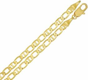 Corrente Cordão Masculino 50cm Diamantado Banhado A Ouro 18k