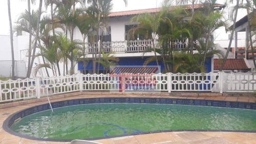 Sobrado Com 3 Dormitórios À Venda, 420 M² Por R$ 4.800.000,00 - Vila Homero Thon - Santo André/sp - So1134