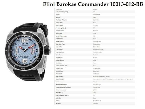 Relógio Importado Original Elini Barokas 10013-012-bb