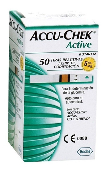 Tiras Reactivas Accu Check Active C/50