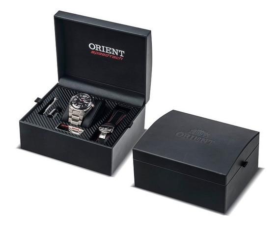 Relógio Orient Masculino Automatico Speedtech 469ft001 P2sx