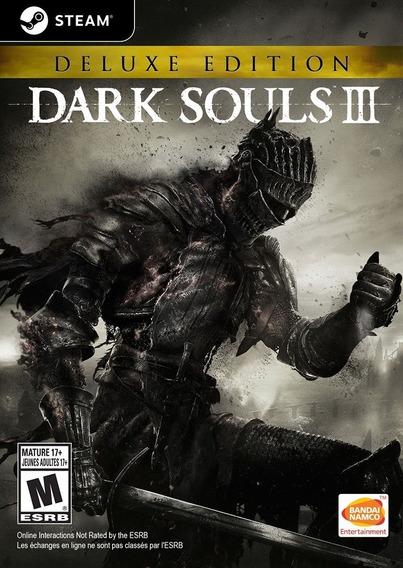 Dark Souls 3 Iii Pc Original Steam Key Deluxe Edition