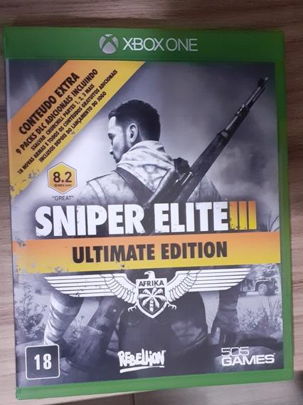 Sniper Elite Iii - Xbox One - Mídia Física