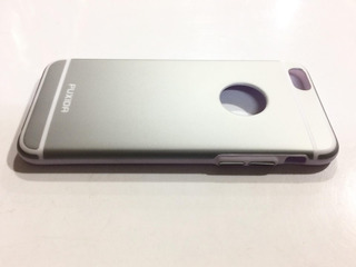 Funda Tpu iPhone 6 6s Puxida Botón Aluminio