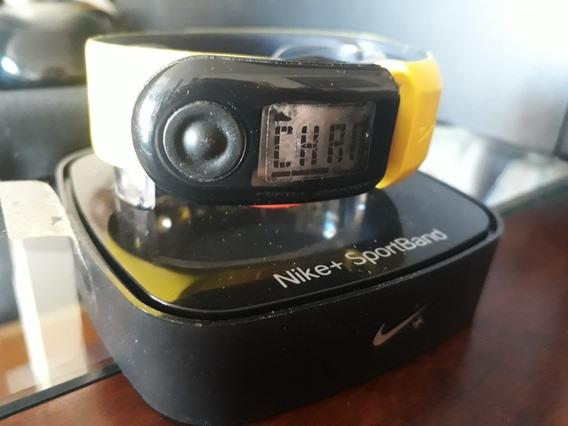 Relógio Nike+ Sportband C/ Caixa E Manual(veja Fotos E Info)