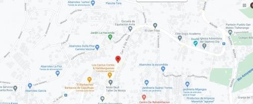 Imagen 1 de 5 de Terreno En Venta En San Mateo Tlaltenango, Cuajimalpa En Santa Rosa