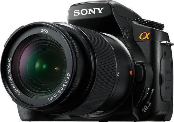 Câmera Profissional Sony A200 + Bolsa + Bateria + Carregador