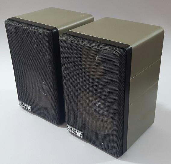 2 Caixinhas Som Csr 75m Ambiente Speaker Acústica Originais