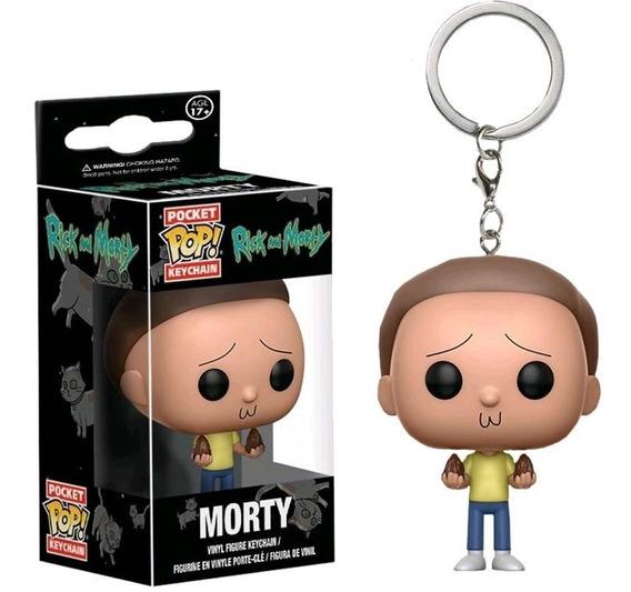Morty Pocket Pop! Keychain Funko Llavero Figura