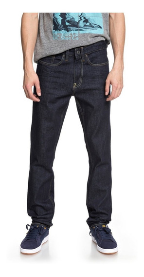 Pantalon Dc Jean Worker Slim Stretch Blue (btkw)