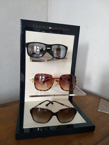 Expositor Tommy Hilfiger Óculos Relógio Roupa Loja Decoração