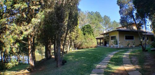 Chácara Com Lago  - Patrimônio Do Carmo - São Roque/sp - Ch0234