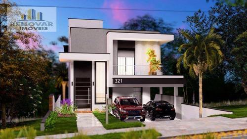 Imagem 1 de 6 de Sobrado Com 3 Dormitórios À Venda, 215 M² Por R$ 1.290.000,00 - Cidade Parquelandia - Mogi Das Cruzes/sp - So0427